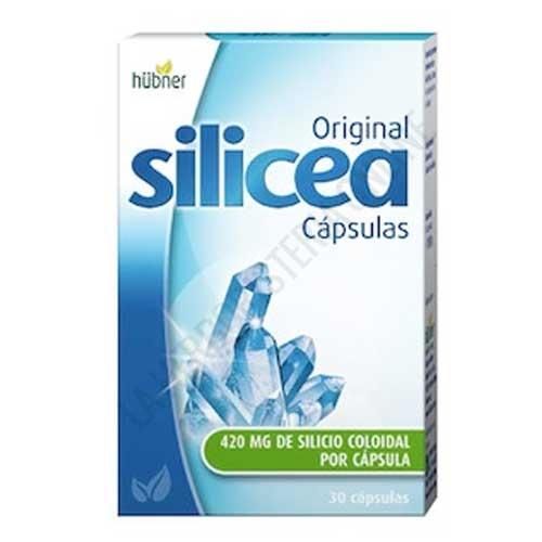 Silicea Original Silicio 420 mg. Hübner 30 cápsulas