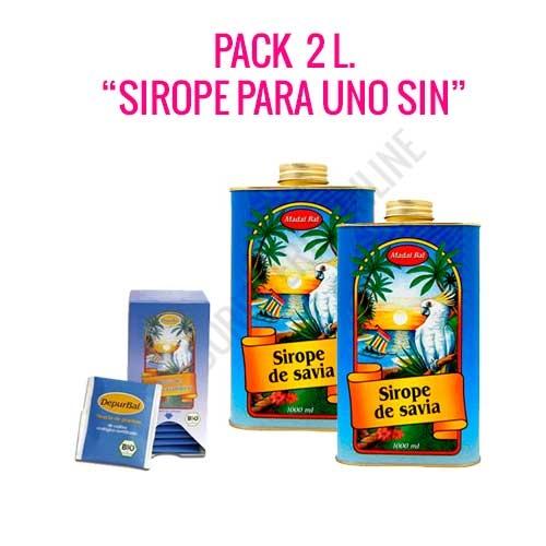 Pack Ahorro 2 litros Sirope