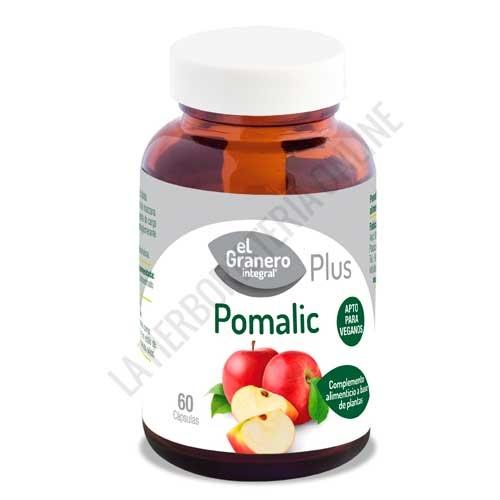 Pomalic Acido Malico de manzana El Granero Integral 60 cápsulas -