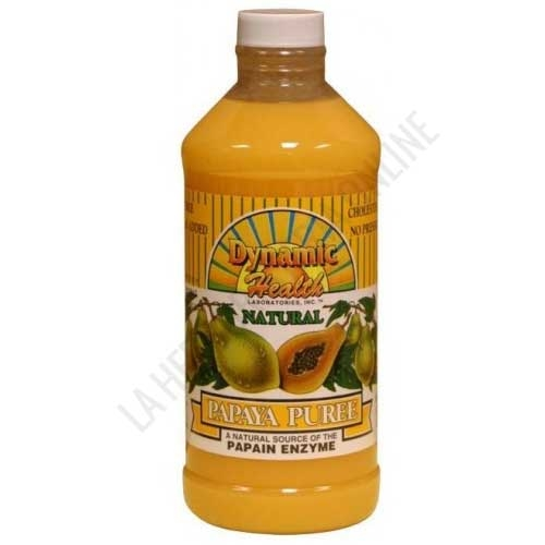 Puré de Papaya concentrado Dynamic Health 473 ml. -