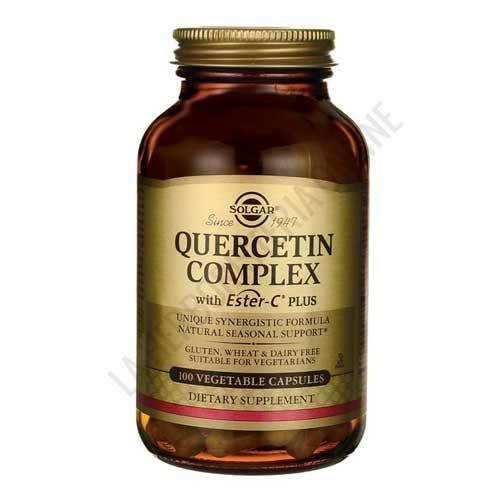 Quercitin Complex con Ester C Plus Solgar 100 cápsulas
