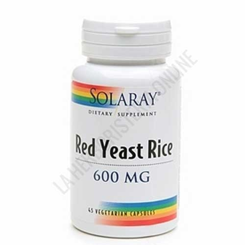 Red Yeast Rice Solaray (arroz de levadura roja) 45 cápsulas -
