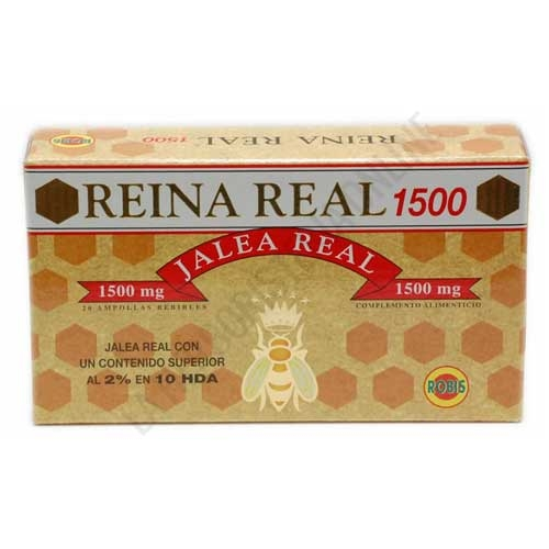 Reina Real 1500 mg. Jalea Real Robis 20 ampollas