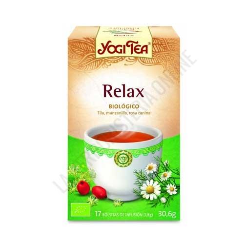 Infusión Relajación Yogi Tea 17 bolsitas