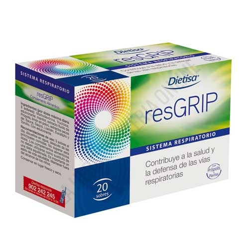Resgrip gripe Dietisa 20 sobres