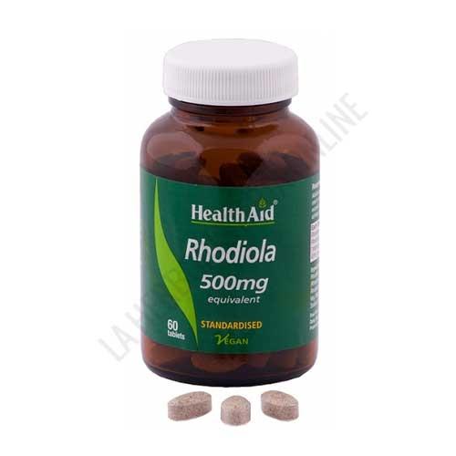 Rhodiola Rosea extracto estandarizado Health Aid 60 comprimidos -