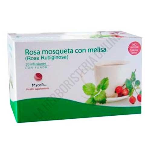 Infusión Rosa Mosqueta y Melisa Pinisan 20 sobres