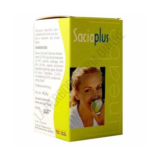 Saciaplus Tongil 60 cápsulas - Saciaplus Lineabel de Tongil es una formulación específica de triple efecto que te ayuda a