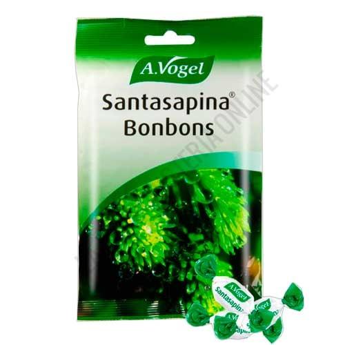 Caramelos de pino rellenos Santasapina Bonbons A. Vogel 100 gr.