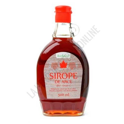 Sirope de Arce Ecológico grado C BioSpirit 500 ml. - El Sirope de Arce grado C de BioSpirit es apropiado para la cura depurativa del Sirope. Es rico en calcio, fósforo, magnesio, manganeso, sodio, hierro y zinc.
