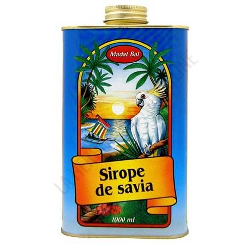 OFERTA DEL MES - Sirope de Savia Madal Bal 1 litro - -39% DTO. OFERTA DEL MES. El Sirope de Savia Madal Bal, sirope de Arce grado C y Palma, contiene la proporción adecuada de nutrientes y sustancias necesarias para realizar la Cura depurativa del Sirope de Savia y el zumo de limón.