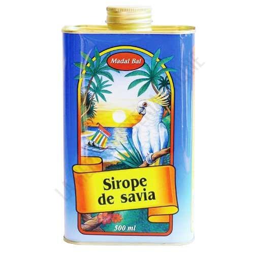 Sirope de Savia Madal Bal 500 ml. - El Sirope de Savia Madal Bal, sirope de Arce grado C y Palma, contiene la proporción adecuada de nutrientes y sustancias necesarias para realizar la Cura depurativa del Sirope de Savia y el zumo de limón.