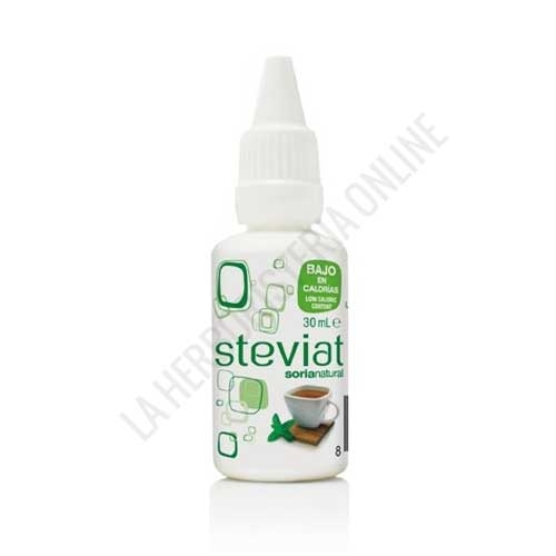 Steviat edulcorante en gotas Soria Natural 30 ml.