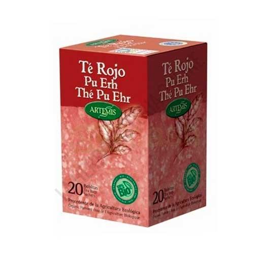 Té Rojo Pu-Erh BIO Artemis 20 infusiones
