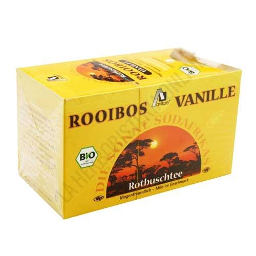 Té Rooibos vainilla BIO Madalbal 20 infusiones