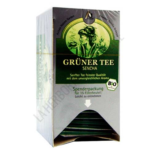 Té verde Sencha Bio Madalbal 15 infusiones -