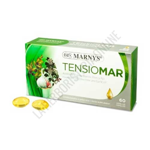 Tensiomar Espino Blanco, Olivo, Ajo Marnys 60 perlas
