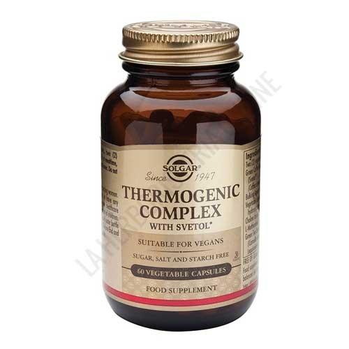 Thermogenic Complex a base de Café Verde Solgar 60 cápsulas