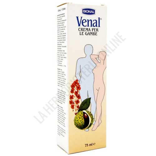 Crema Venal piernas cansadas Bional 75 ml. - La Crema Venal de Bional es ideal para aplicar sobre las piernas cansadas ya que ayuda a tonificarlas, refrescarlas y calmarlas, aliviando así la fatiga o la sensación de