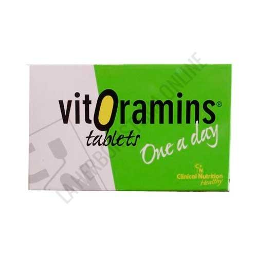 Vitoramins energía y vitalidad CN Dietéticos 36 comprimidos