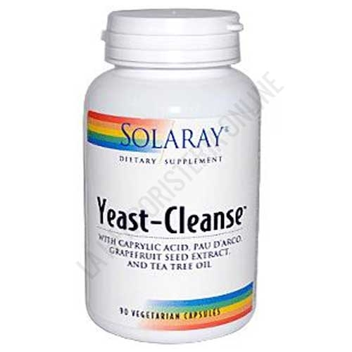 Yeast Cleanse Solaray 90 cápsulas