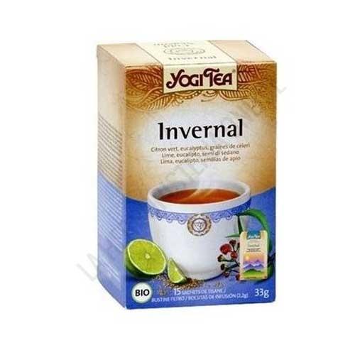 Infusión Invernal Yogi Tea 15 bolsitas