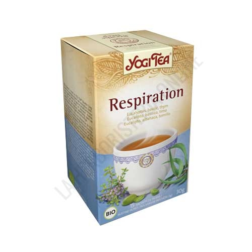Infusión Respiración Yogi Tea 15 bolsitas -