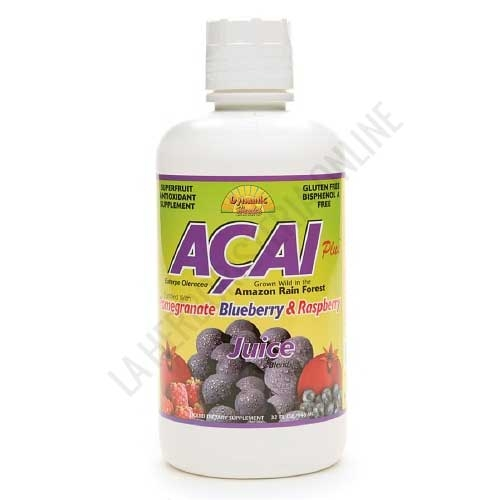 Zumo de Acai Dynamic Health 946 ml. -